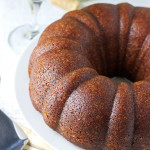 White Wine Cake- An unexpected combination of white wine and cinnamon makes this white wine cake totally addictive. It's beautiful, ultra-moist, and so easy! passthechallah.com